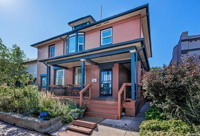 Denver Single Family Home Active: 52 West Bayaud Avenue
