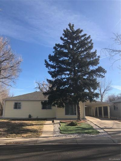 Aurora Single Family Home Active: 1280 Worchester Street