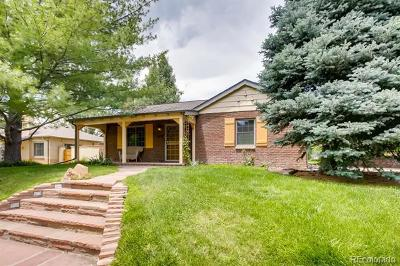 Denver Single Family Home Active: 3065 East Mississippi Avenue