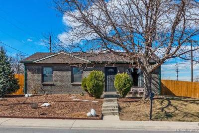Denver Single Family Home Active: 5573 Raritan Way
