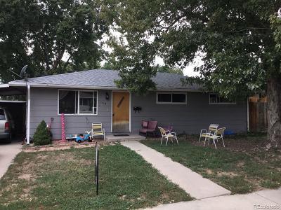 Longmont Single Family Home Under Contract: 109 Grant Street