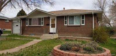 Arvada Single Family Home Active: 6591 Benton Circle