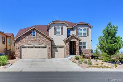 Castle Rock Single Family Home Active: 2639 Black Canyon Way