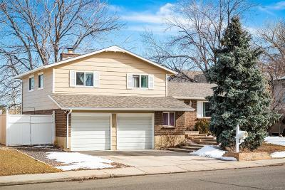 Littleton Single Family Home Under Contract: 4368 South Carr Court