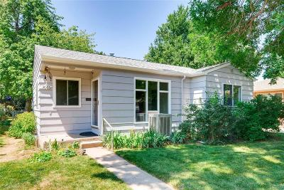 Englewood Single Family Home Under Contract: 3065 South Corona Street