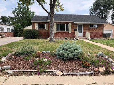 Thornton Single Family Home Under Contract: 9230 Ciancio Street