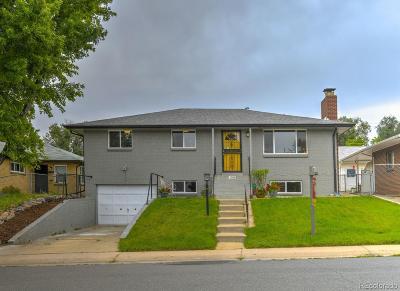 Denver Single Family Home Under Contract: 1364 West Center Avenue