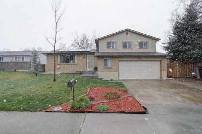 Arvada Single Family Home Active: 7092 Deframe Court