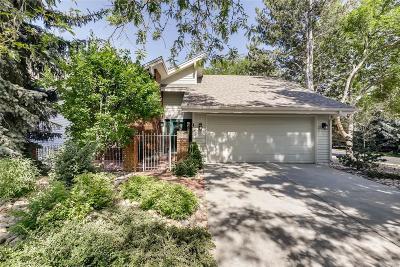 Boulder Single Family Home Active: 7111 Cedarwood Circle