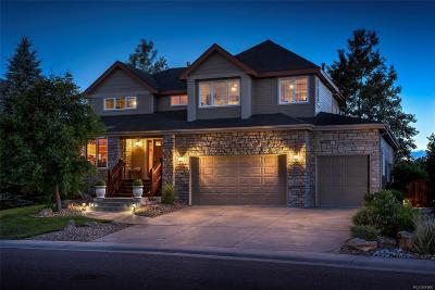 Castle Pines Single Family Home Active: 7077 Turweston Lane