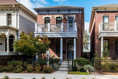 Denver Single Family Home Active: 2643 Curtis Street