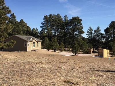 Kiowa CO Single Family Home Active: $365,000