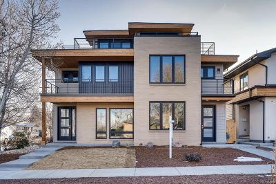 Denver Condo/Townhouse Active: 4488 Raleigh Street