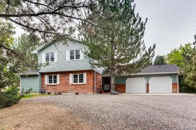 Centennial Single Family Home Active: 6351 South Andes Place