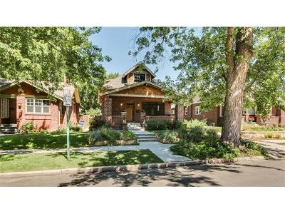 Denver CO Single Family Home Sold: $907,500