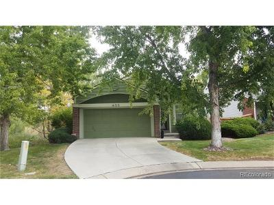 Littleton Single Family Home Active: 439 West Jamison Circle