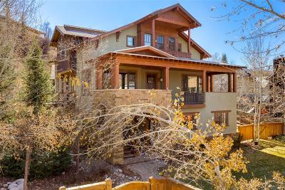Steamboat Springs Single Family Home Active: 23 Spruce Street