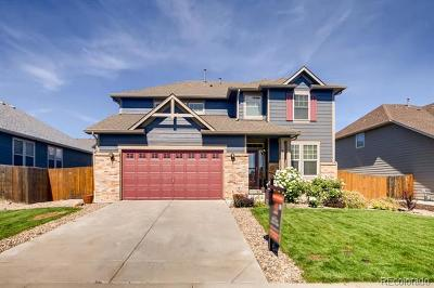 Single Family Home Active: 4737 South Coors Lane
