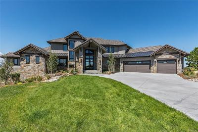 Parker CO Single Family Home Active: $3,500,000