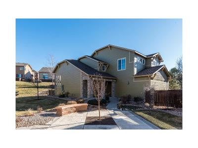 Highlands Ranch Single Family Home Under Contract: 10588 Ashfield Street