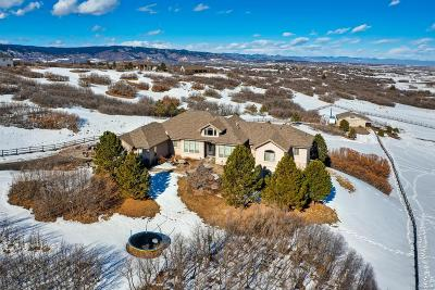 Castle Rock CO Single Family Home Under Contract: $1,500,000