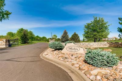 Broomfield Residential Lots & Land Active: 1757 Whistlepig Lane