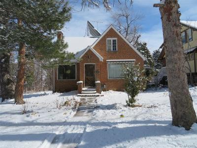 Boulder Single Family Home Active: 922 12th Street