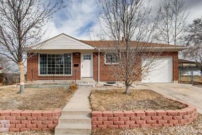 Northglenn Single Family Home Under Contract: 10456 Corona Street