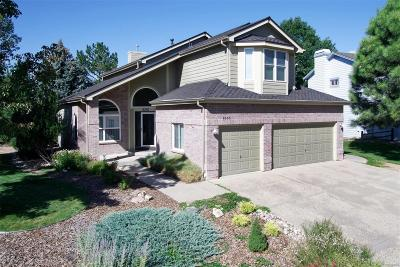 Lone Tree Single Family Home Under Contract: 9293 Sagebrush Trail