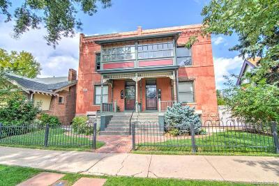 Denver Condo/Townhouse Under Contract: 77 West Archer Place #1