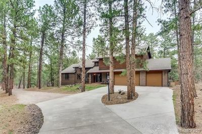 Franktown Single Family Home Active: 11393 Pine Valley Drive