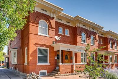 Denver Condo/Townhouse Active: 601 East 16th Avenue