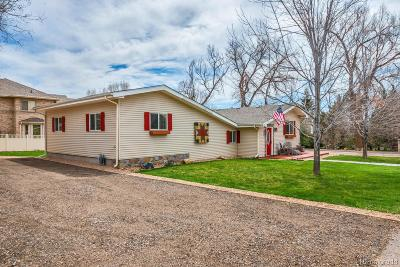 Arvada Single Family Home Under Contract: 6940 Independence Street