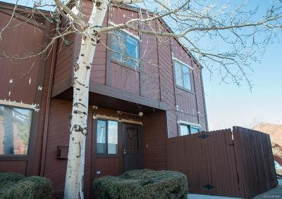 Golden Condo/Townhouse Under Contract: 18314 West 58th Place #54