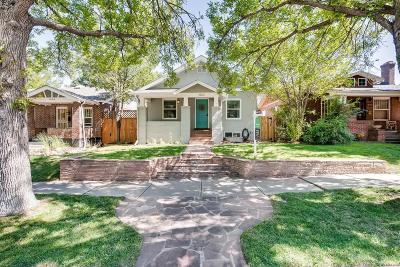 Denver Single Family Home Active: 1062 Fillmore Street