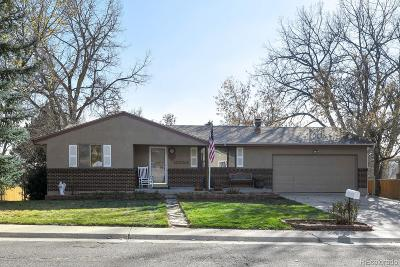 Arvada Single Family Home Under Contract: 10224 West 68th Way