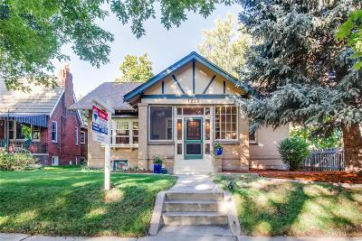 Denver Single Family Home Active: 1221 South High Street