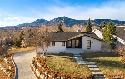 Boulder Single Family Home Active: 2550 Balsam Drive