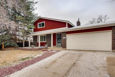 Arvada Single Family Home Active: 7161 Deframe Court