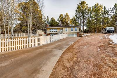 Woodland Park Single Family Home Under Contract: 264 Piney Point Lane