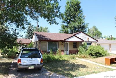 Arvada Single Family Home Under Contract: 5555 Cody Court