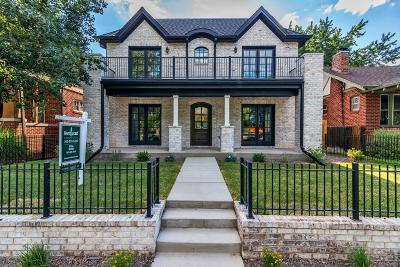 Denver Single Family Home Active: 965 South Downing Street