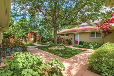 Boulder Condo/Townhouse Under Contract: 2130 Mapleton