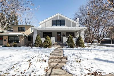 Denver County Single Family Home Under Contract: 994 South Josephine Street