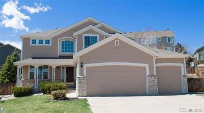 Castle Pines Single Family Home Active: 8229 Cottongrass Court