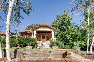 Denver Single Family Home Active: 979 Madison Street
