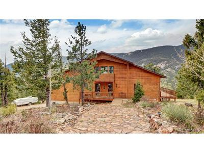 Manitou Springs Single Family Home Active: 520 Sunrise Peak Road