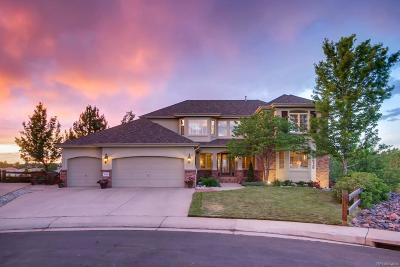 Highlands Ranch Single Family Home Under Contract: 10461 Meyerwood Court