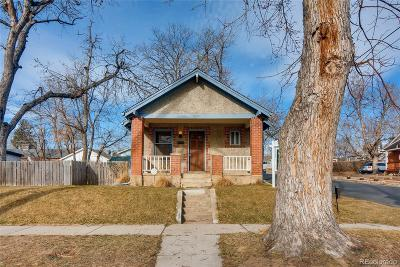 Denver Single Family Home Under Contract: 4695 Clay Street