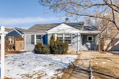 Denver Single Family Home Active: 4450 Elm Court